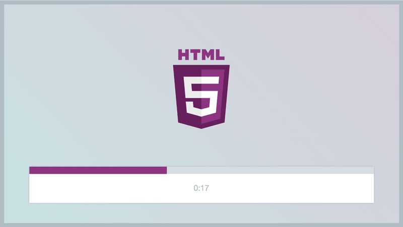 Your HTML5 Player